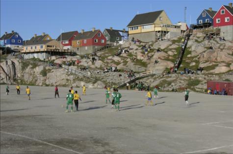 grönland fotboll